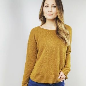Madewell Textured Crewneck Pullover Sweater